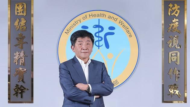 Ministr zdravotnictví a sociálních věcí Čínské republiky (Tchaj-wanu) Chen Shih-chung