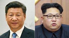 Čínský prezident Si Ťin-pchin a vůdce KLDR Kim Čong-un
