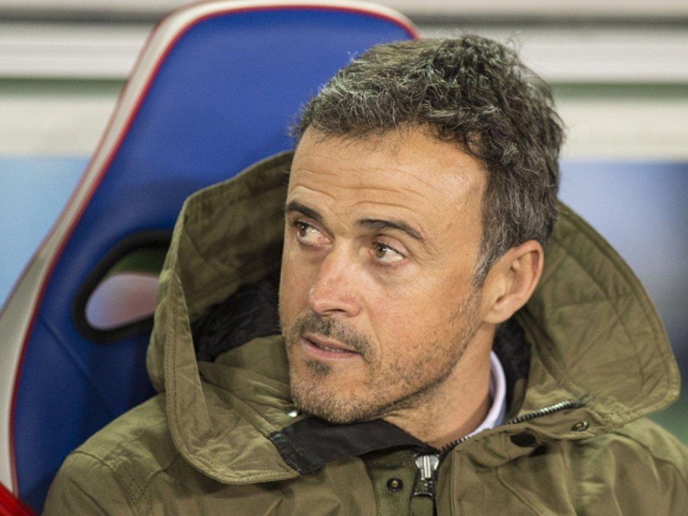 Trenér Barcelony Luis Enrique.