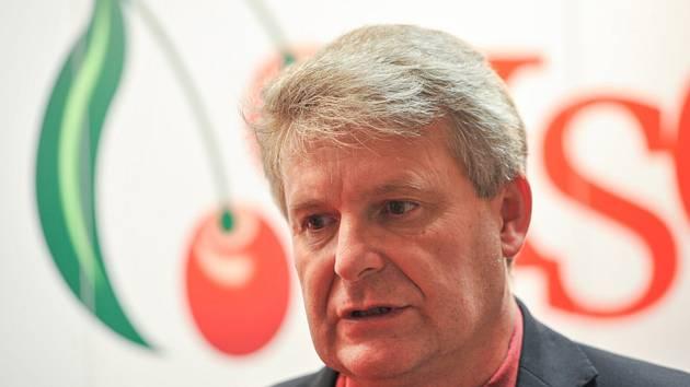 Místopředseda Komunistické strany Čech a Moravy Stanislav Grospič