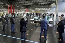 Hromadné testování na koronavirus ve Vídni