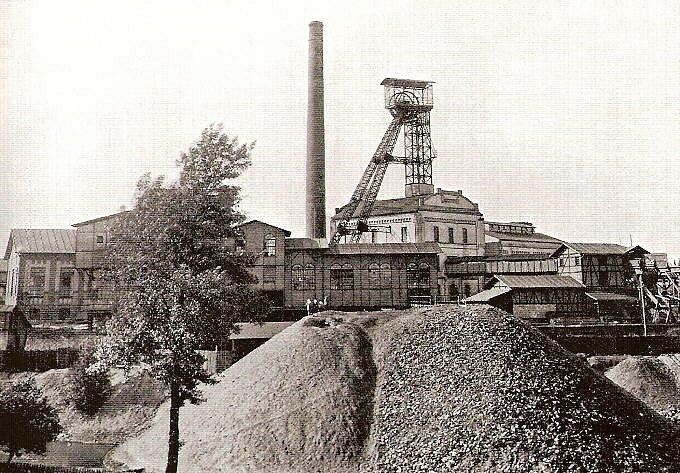 Důl Františka v roce 1924