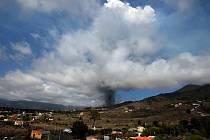 Erupce vulkánu Cumbre Vieja na Kanárských ostrovech