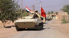 Irácká armáda dobyla Rávu