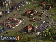 Počítačová hra Cossacks 3.