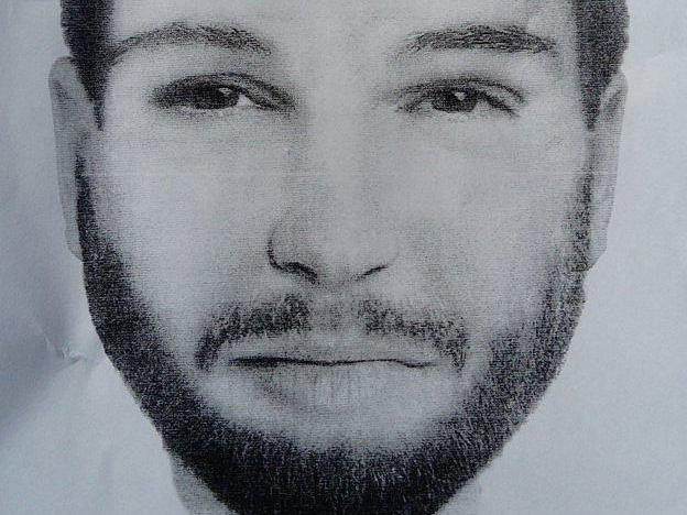 Portrét muže, který se pravděpodobně nacházel v okolí místa vraždy Jána Kuciaka