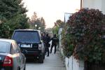 Policisté provádějí razii v domě slovenského podnikatele Kočnera.