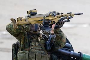Němečtí elitní vojáci.