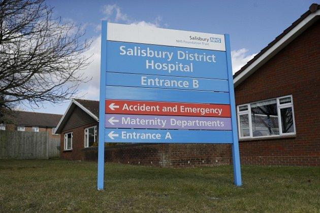 Nemocnice v Salisbury