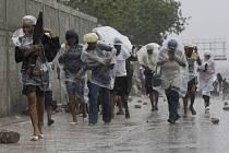 hrozba hurikánu