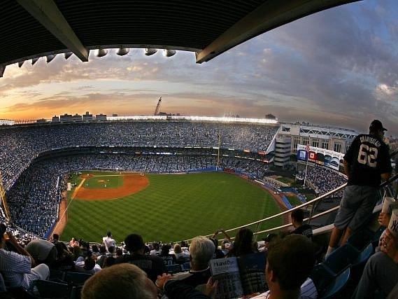 Yankees stadium.