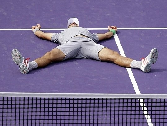Novak Djokovič po triumfu v Miami