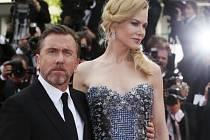 Ve francouzském letovisku Cannes dnes večer začal 67. ročník prestižního mezinárodního filmového festivalu. Na snímku Nicole Kidman a Tim Roth.