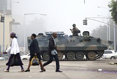 Zimbabwe po převratu