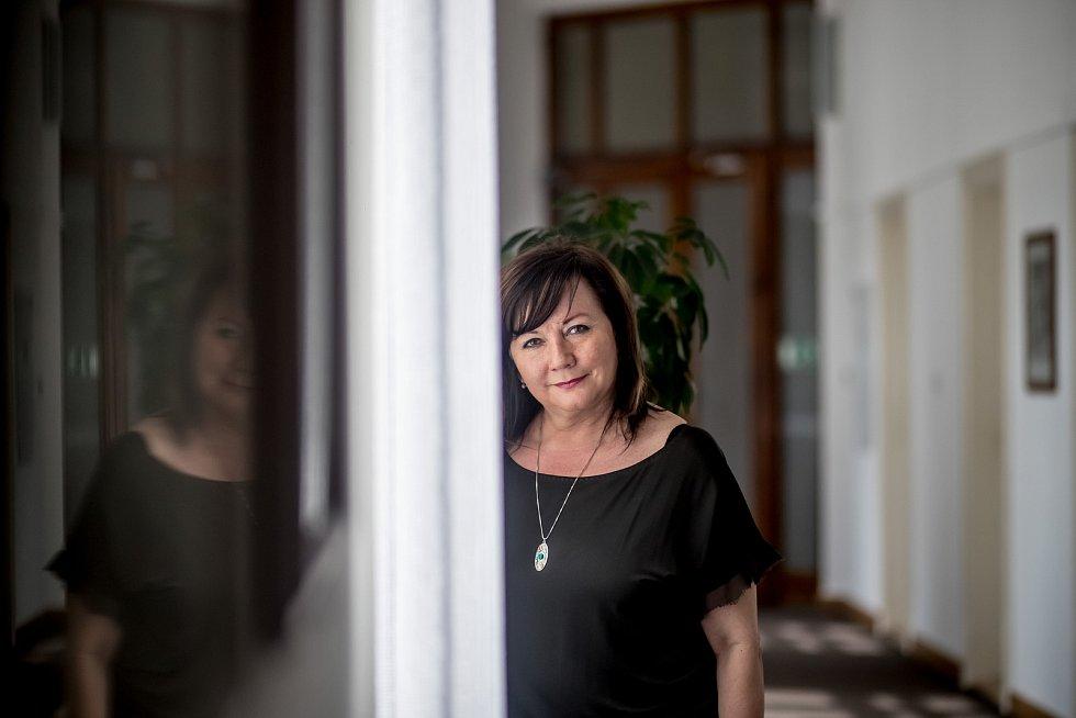 Ministryně financí Alena Schillerová