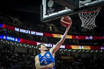Český basketbalista Pavel Pumprla.
