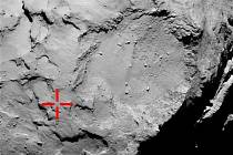 Sonda Rosetta objevila svůj robotický modul Philae.