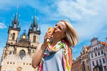 Léto v Praze. Ilustrační snímek