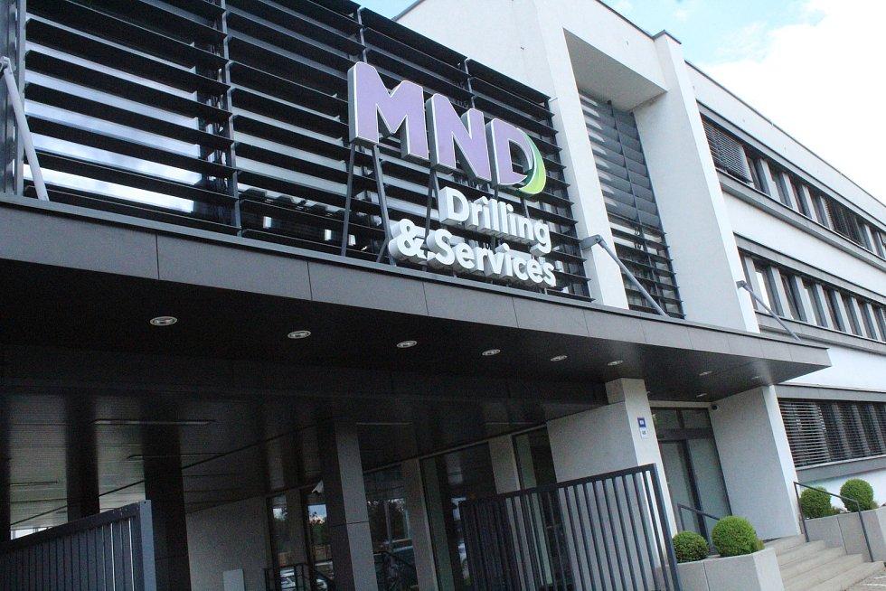Vstup do areálu MND v Lužicích měsíc před tornádem.