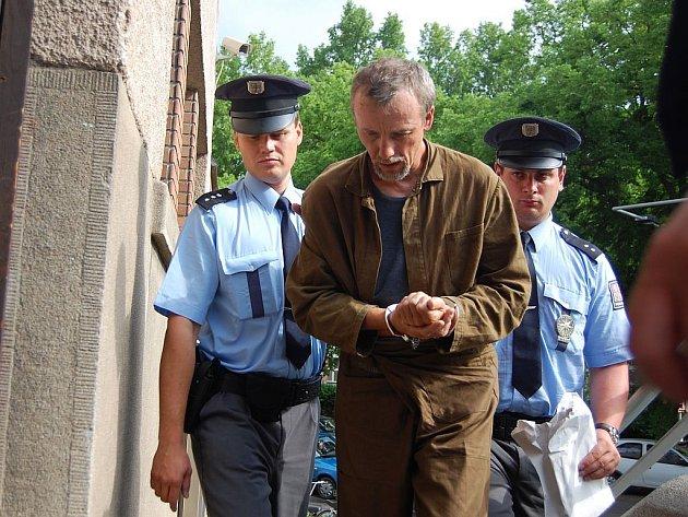 Slovenský pedofil Antonín Novák, který se přiznal k vraždě Jakuba Šimánka