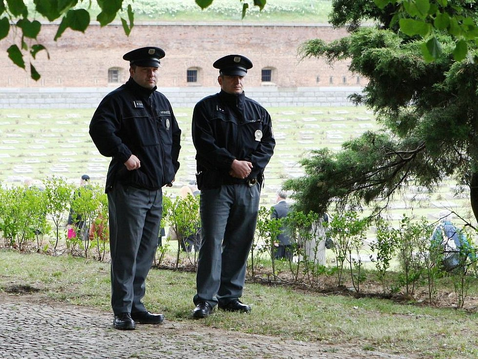 Památku obětí nacistické perzekuce za druhé světové války si lidé připomněli na Národním hřbitově v Terezíně na Litoměřicku.