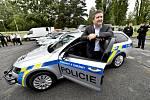 Ministr vnitra Jan Hamáček představil 9. září 2019 v Praze nové vozy pro Policii ČR