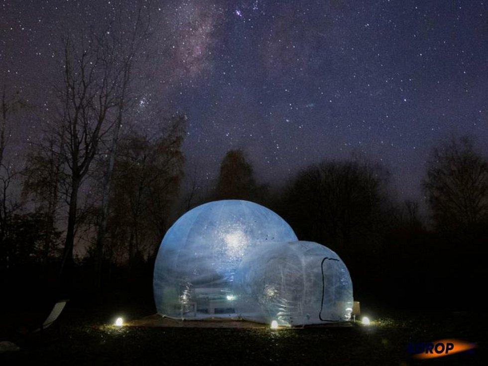 Bubble hotel Skyhomes, jeho další podnikatelský záměr