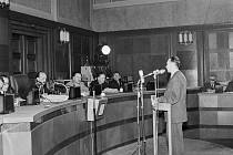 Před soudem. Výslech Záviše Kalandry proběhl počátkem června 1950.