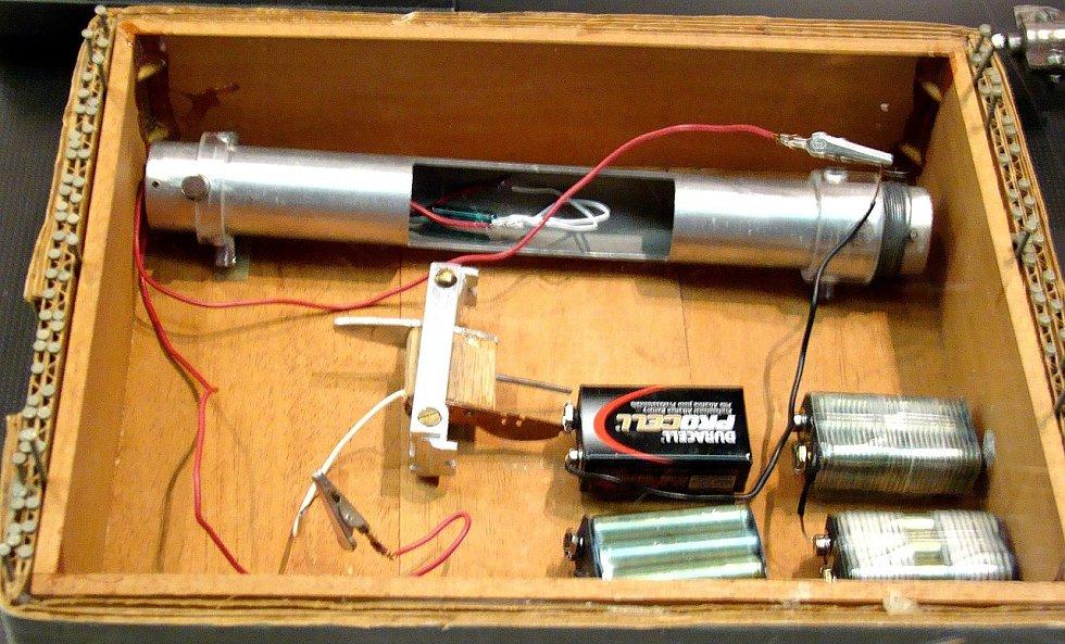 Model jedné z Kaczynského bomb, vytvořený FBI, byl před časem vystaven v již zaniklém washingtonském Newseu