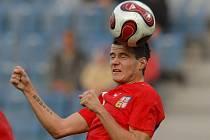 Daniel Pudil přišel o nominaci na Euro 2008, teď se chce do reprezentace vrátit na stálo.