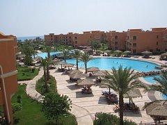 Hotel Caribbean World Resorts Soma Bay v Hurghadě v Egyptě