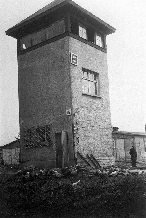 Strážní věž v Dachau