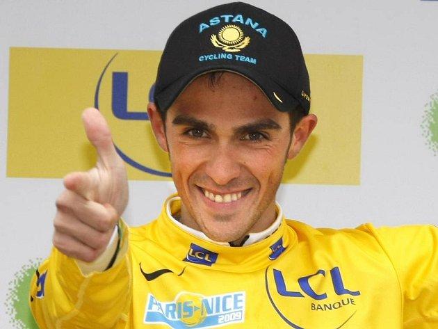 Alberto Contador se do Francie vrátil jako pravý šampion.