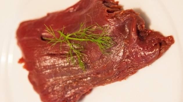 Koňské maso. Ilustrační foto