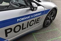 Policejní automobil - ilustrační foto
