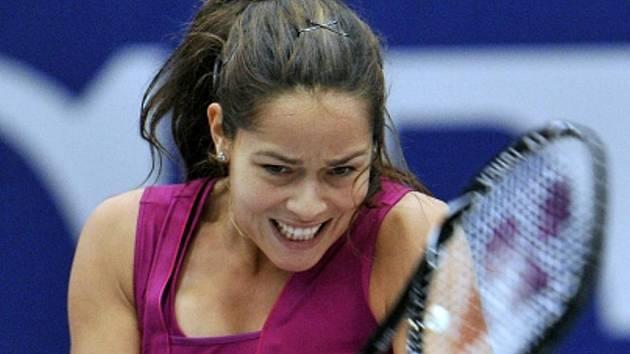 Ana Ivanovičová na turnaji v Linci.