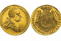 Dukát 1772 Karla Egona z Fürstenbergu bude dražen jako položka číslo 269. Je velice vzácný aje ražen právě zroztaveného keltského poklad. Odhaduje se, že jeho cena by mohla vystoupat až na 600 tisíc korun