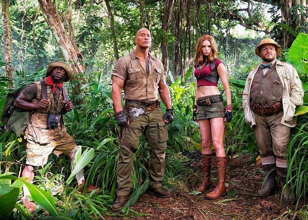 z filmu Jumaji: Vítejte v džungli!