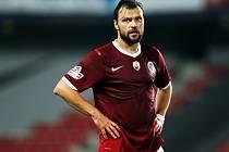 Tomáš Ujfaluši se poprvé představil v dresu Sparty.