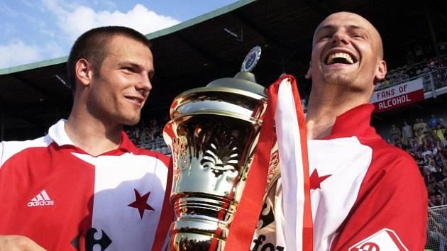 Lukáš Došek (vlevo) a Tomáš Došek.