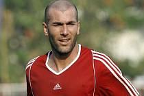 Francouzská fotbalová hvězda Zinédine Zidane.