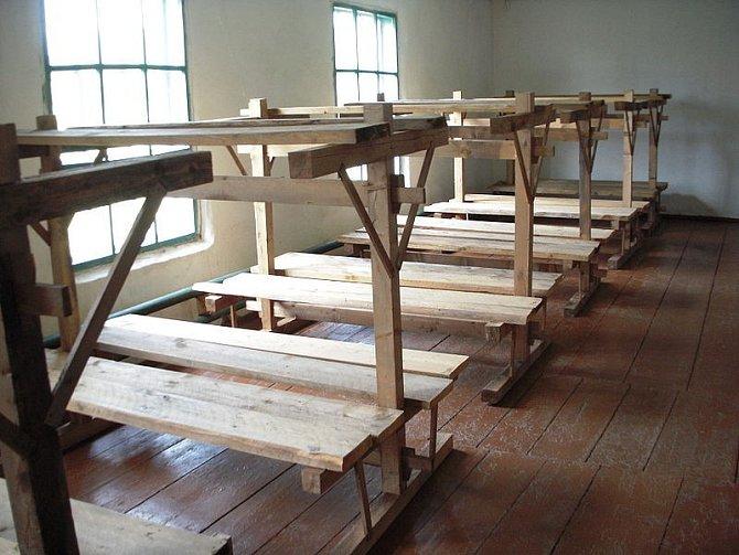 Rekonstrukce cely v gulagu
