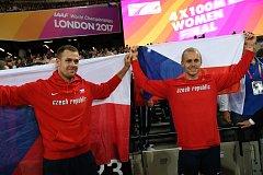 Jakub Vadlejch a Petr Frydrych na MS v Londýně