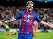 Lionel Messi vstřelil Manchesteru City hattrick