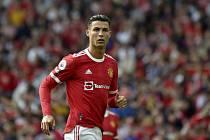 Fotbalista Manchesteru United Cristiano Ronaldo.
