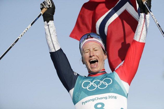 Fenomenální norská lyžařka Märit Björgenová.