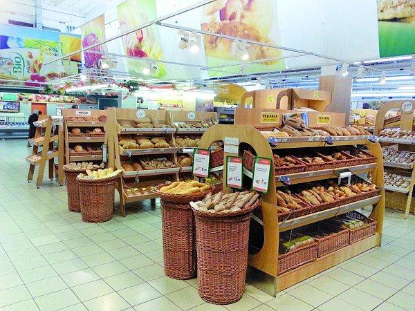 Nabídka od dvaceti jihočeských pekařů včeskobudějovickém Ternu.