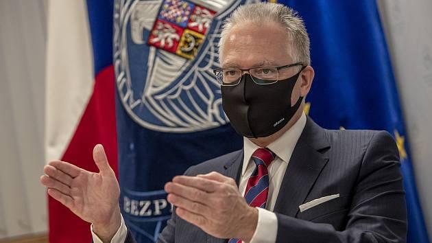 Ředitel Bezpečnostní informační služby (BIS) Michal Koudelka poskytl 18. listopadu v Praze rozhovor Deníku.