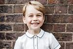 Britský princ George slaví páté narozeniny
