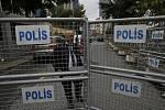 Turecká policie prohledala saúdskoarabský konzulát.